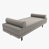 daybed custom stitched bolster max