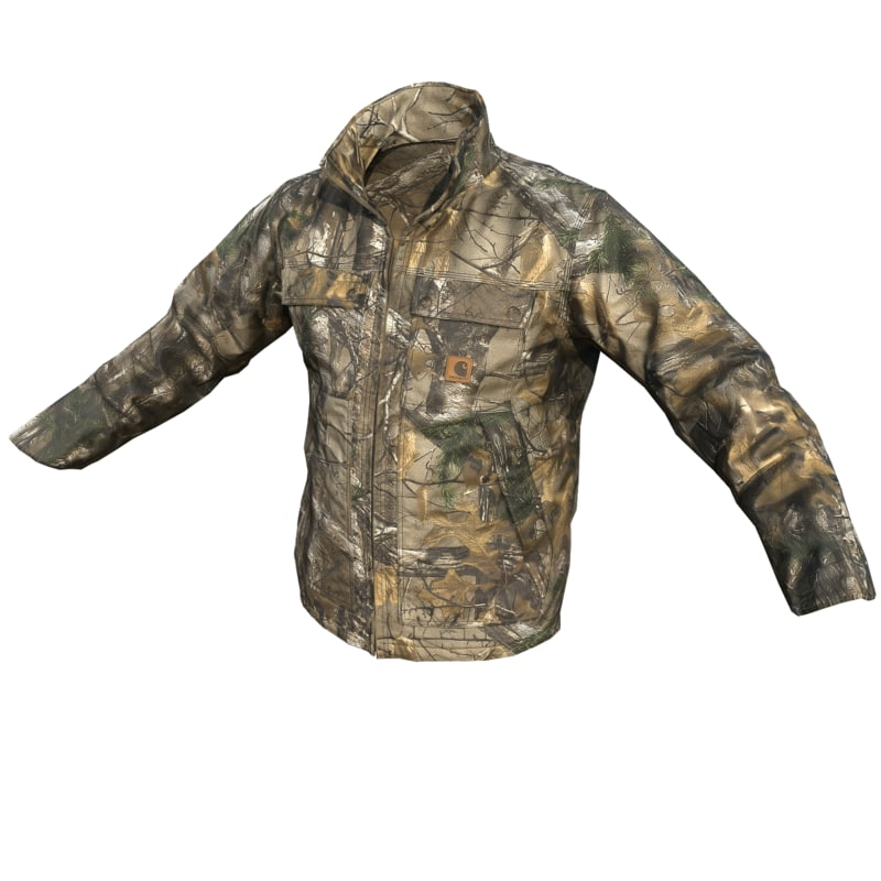 3d carhartt hunting jacket -