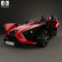 3d model polaris slingshot 2015