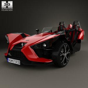 3d model polaris slingshot 2015
