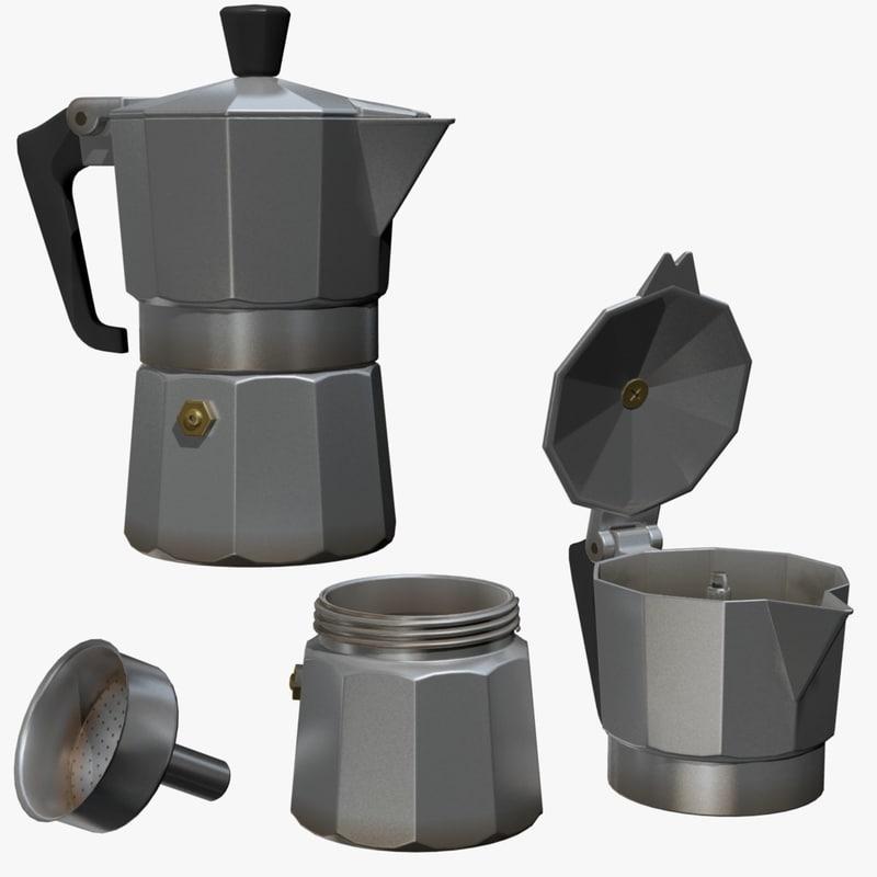fbx italian coffe pot