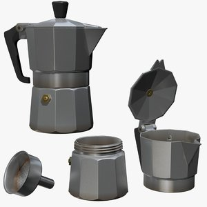 fbx italian coffe pot