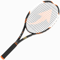 tennis racket 3d obj