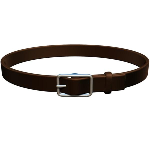 3d belt model