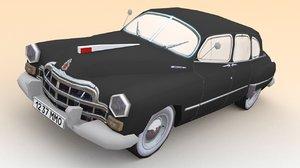 3d model soviet zim