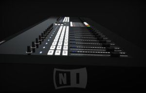 native instruments control surface 3d model