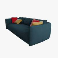 Sofa Dark Blue