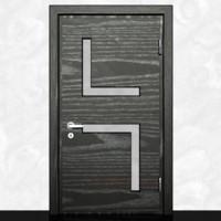 Wooden door-3