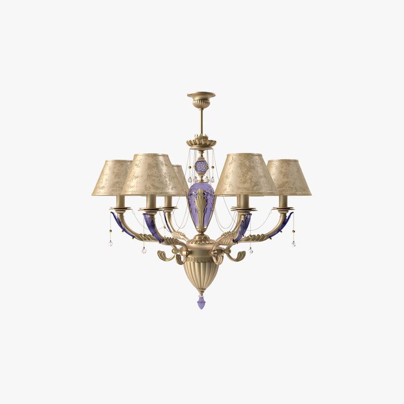 chandelier kutek katania 3d obj