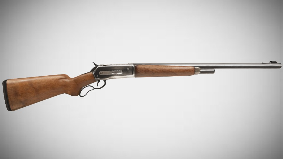 blend american winchester rifle