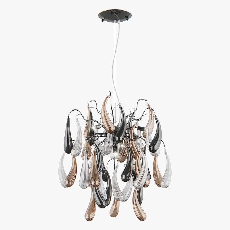 3d chandelier 794194 manica lightstar