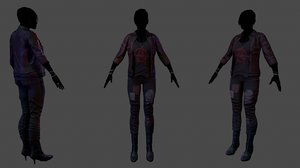 3d female outfit 1