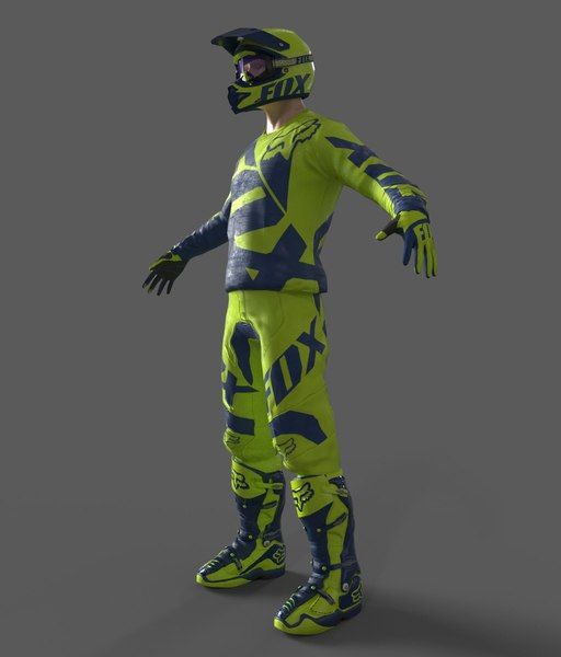 motocross racing suit blend