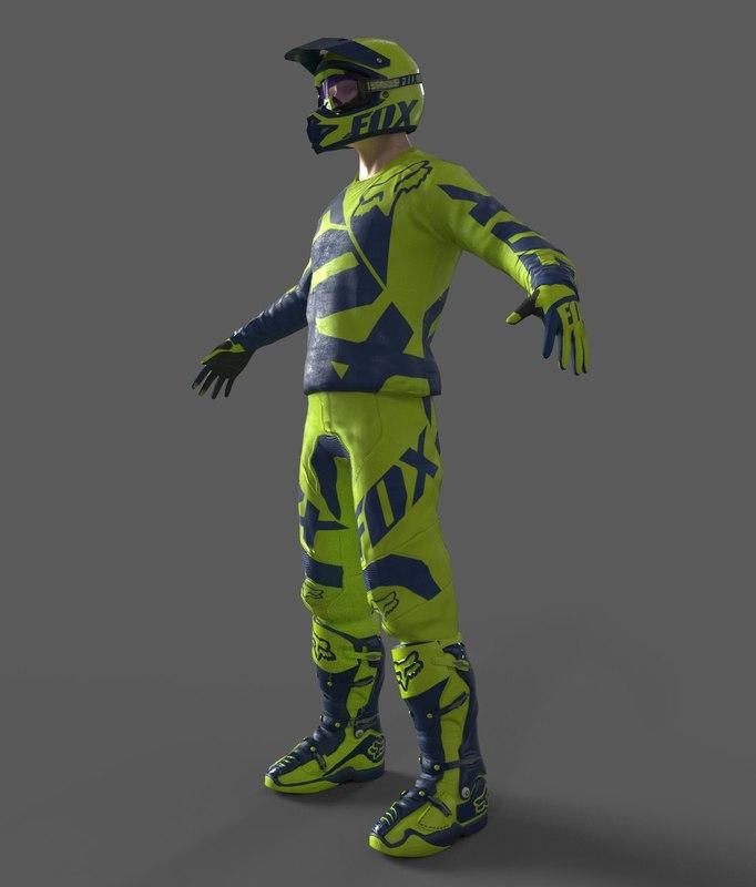 motocross racing suit blend