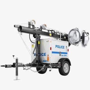 police light tower ma
