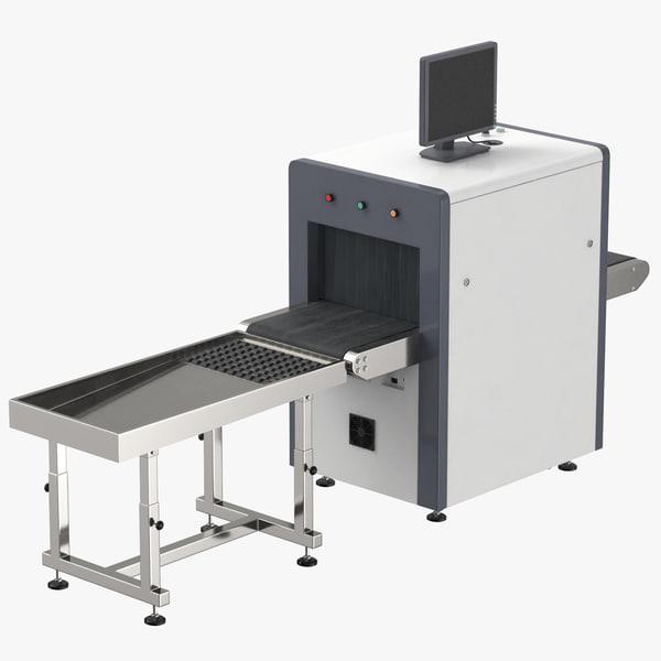 3d x-ray conveyor model