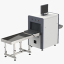 x-ray machine (security) 3D models