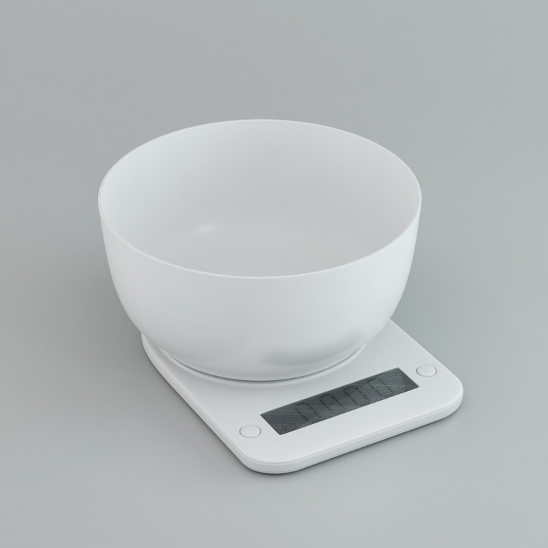 3d kitchen scale