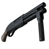remington super-shorty 3d model