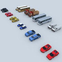 3d cars mobile games