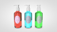 3d liquid soap dispenser