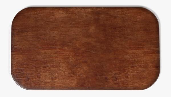 3d wooden board