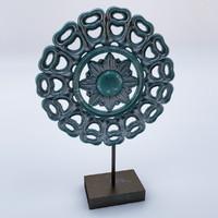 3d islamic antique item model