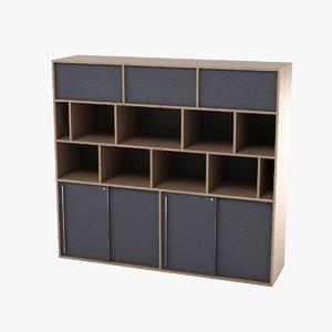 3d office cupboard