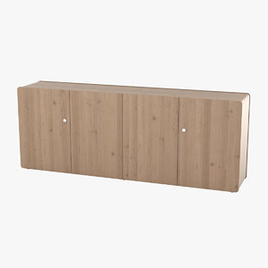 sideboard realistic 3d model