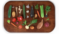 3ds vegetables board