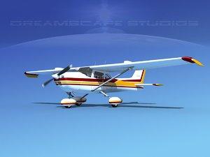 3ds cessna 172 stol skyhawk
