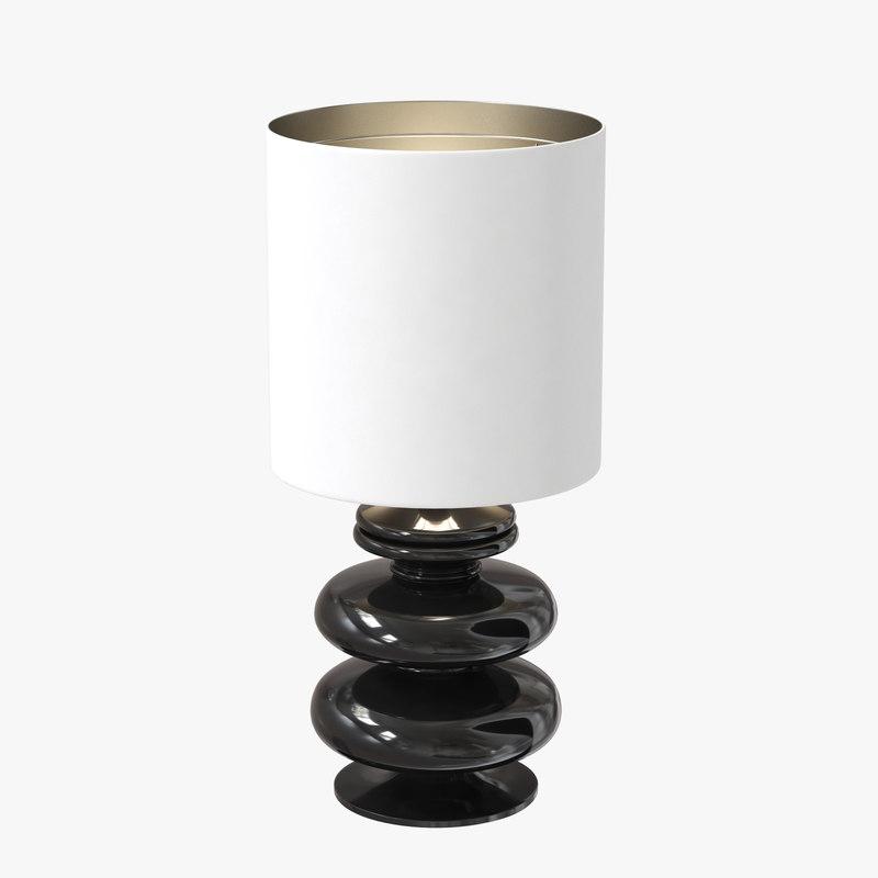 3d nova ceramic table lamp model