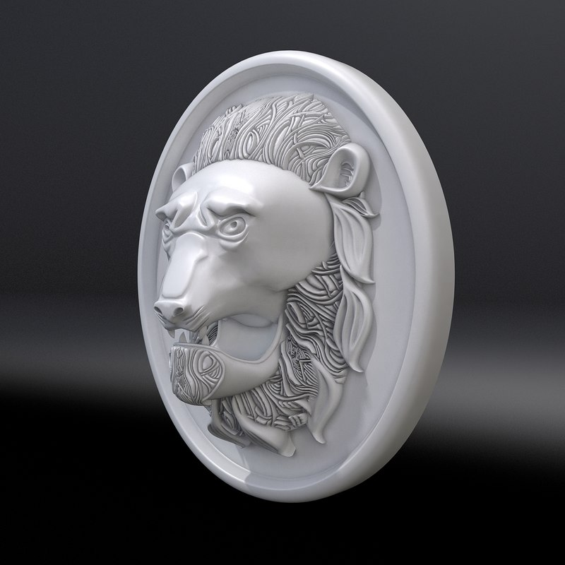 mascaron lion max