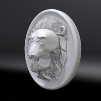 mascaron lion max