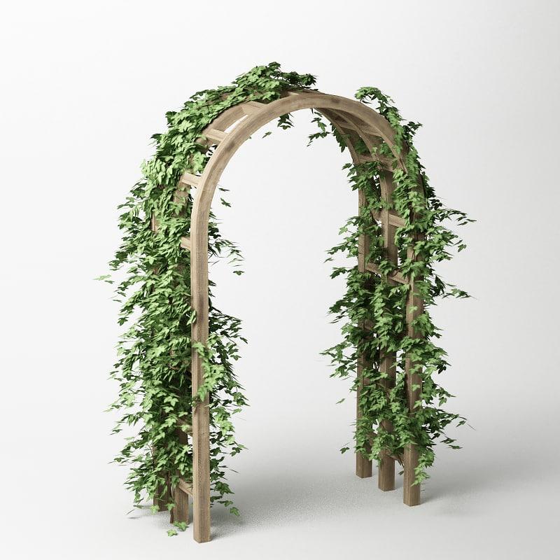 plant pergola max