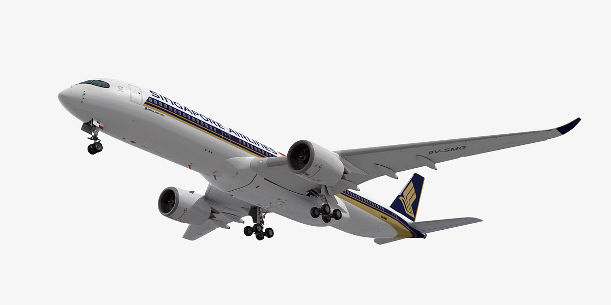airbus a350-900 singapore airlines max