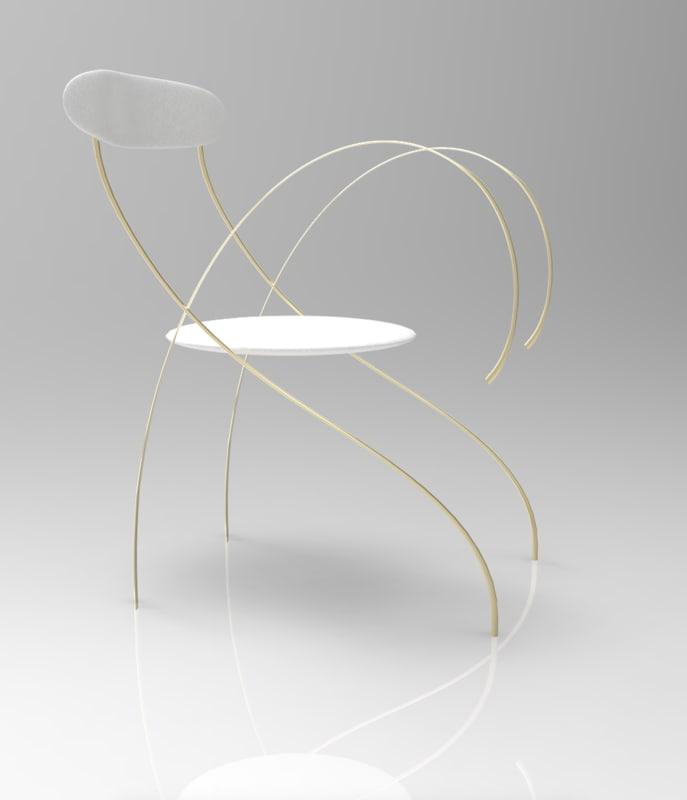 design chair 3d model