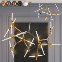 3d chandelier 20 lighting