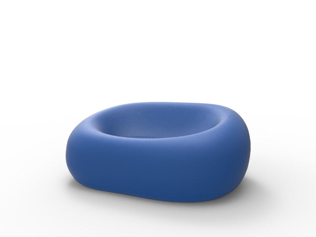 3d sofa futuristic