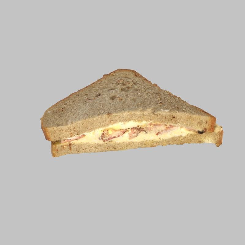 max sandwich bacon egg