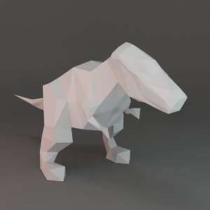 figure low-poly 3d max
