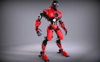 robot zbrush 3d obj