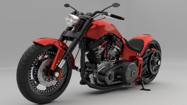 custom biker 3d 3ds