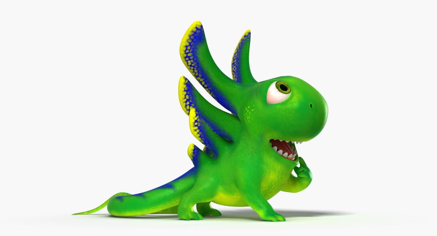 lizard character rig max