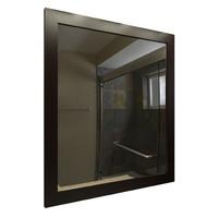mirror wood bathroom 3d obj