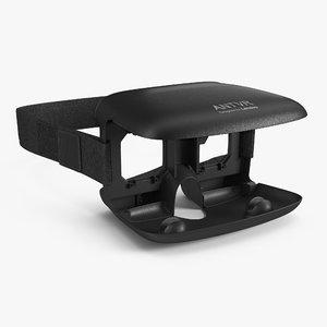 3d model ant vr headset lenovo