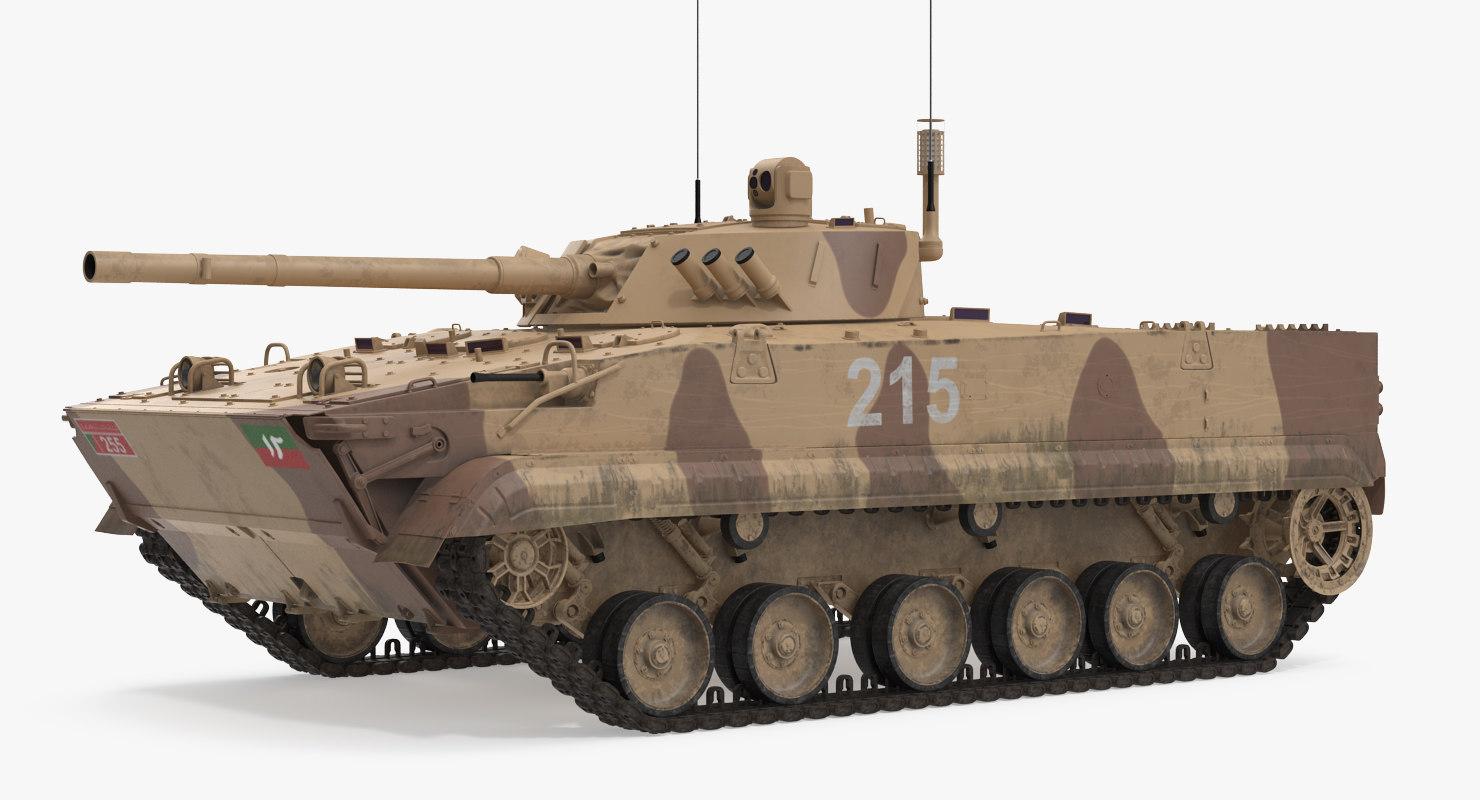 max light tank bmp-3 desert