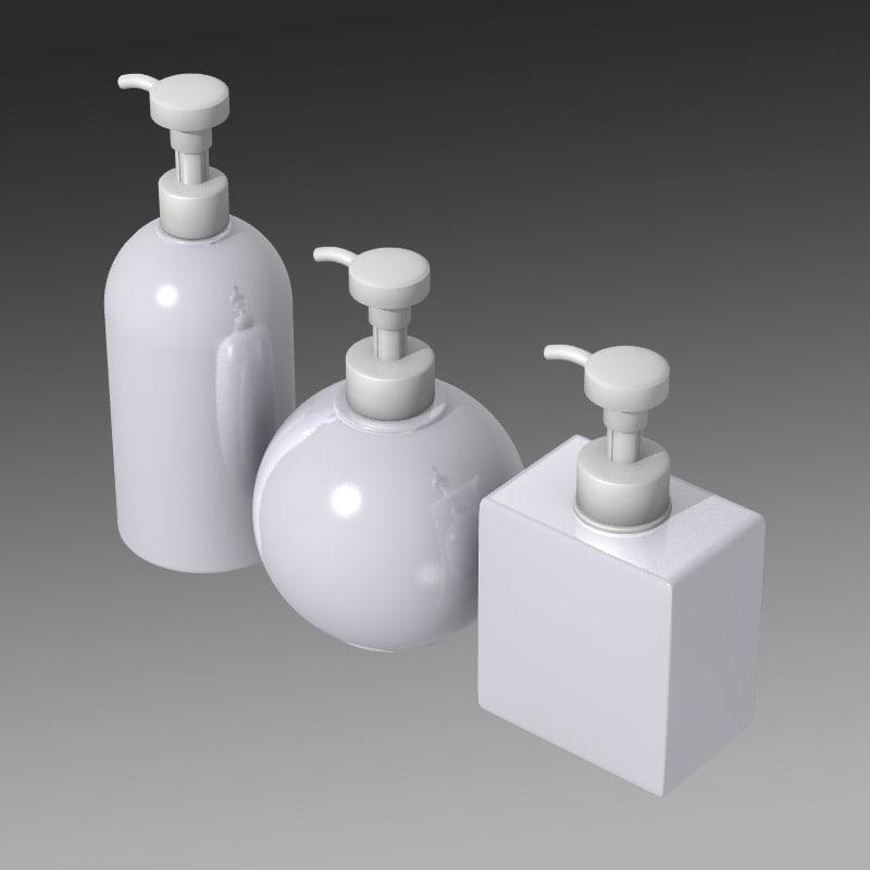 obj set soap dispensers