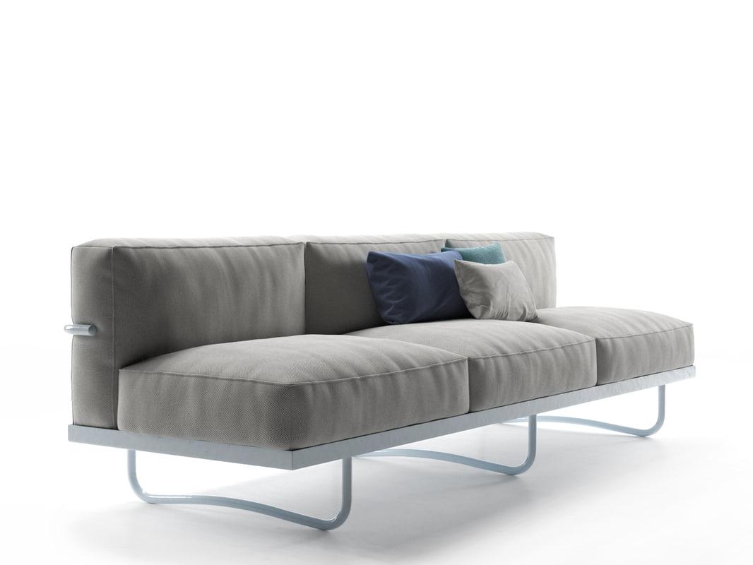 3d lc5 sofa model