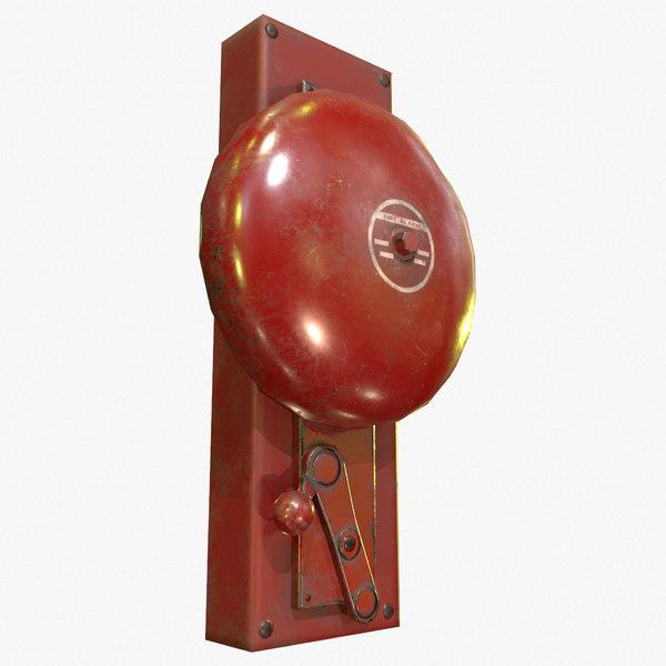 ready retro alarm pbr 3d 3ds